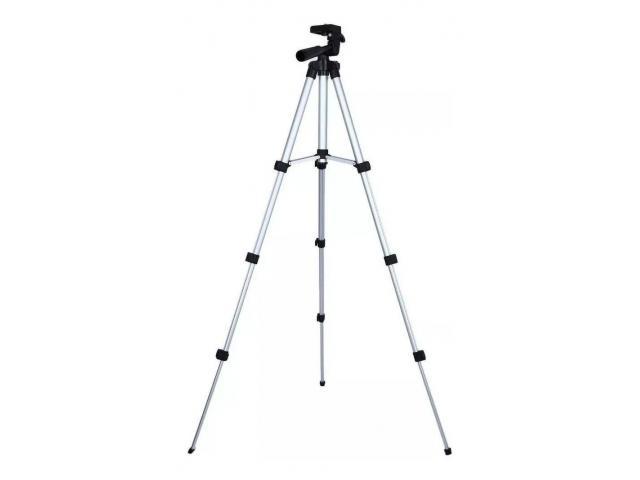 Tripé Para Câmera Celular 1,02 M aluminio Universal Telescópico - 5/6