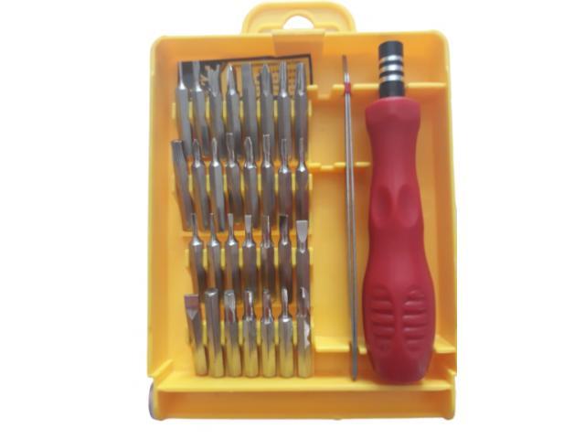 Kit Chave de Precisão com 32 Peças - Celulares Notebook etc - 2/3