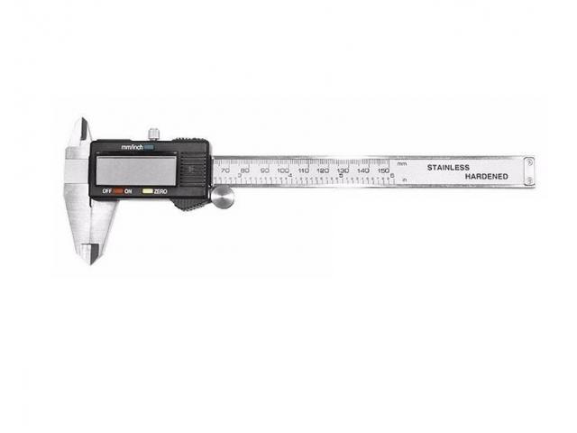 Paquímetro Digital Aço Inox 150mm + Estojo - 4/4
