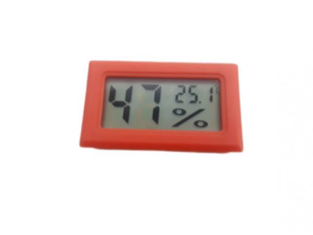 Termômetro Higrômetro Termohigrometro  Digital Colorido - 2/5