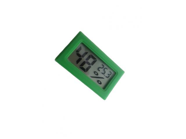 Termômetro Higrômetro Termohigrometro  Digital Colorido - 4/5