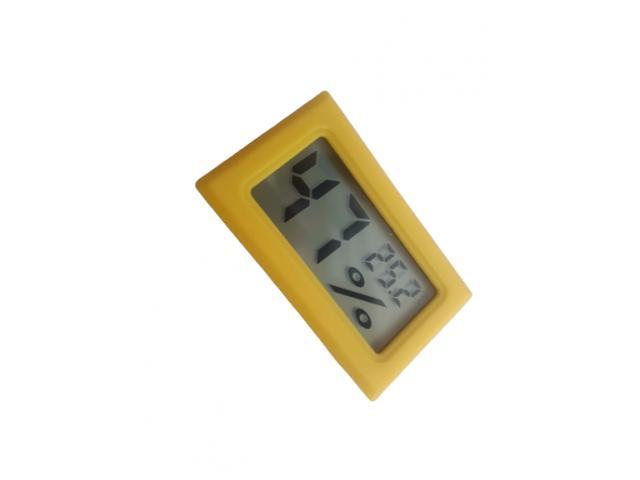 Termômetro Higrômetro Termohigrometro  Digital Colorido - 5/5