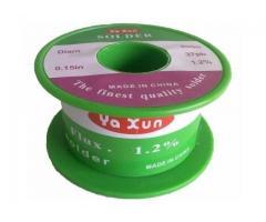 Rolo Estanho Para Solda Yaxun 0.5mm