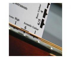 Régua Regulagem Luthier Nut
