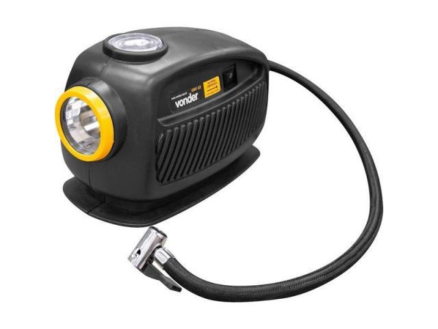 Mini Compressor de Ar Automotivo 12V com Lanterna - 1/4
