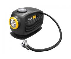 Mini Compressor de Ar Automotivo 12V com Lanterna