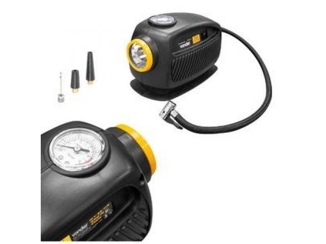 Mini Compressor de Ar Automotivo 12V com Lanterna - 3/4