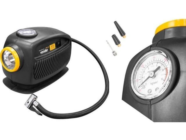 Mini Compressor de Ar Automotivo 12V com Lanterna - 4/4
