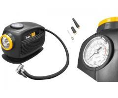 Mini Compressor de Ar Automotivo 12V com Lanterna - Imagem 4/4