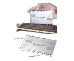 Régua Altura Cordas inox  luthier Regulagem de  altura de cordas  instrumentos de cordas - Imagem 6/6