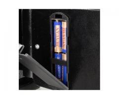 Cofre Eletrônico Digital Teclado Com Senha + 2 Chaves - Imagem 3/4