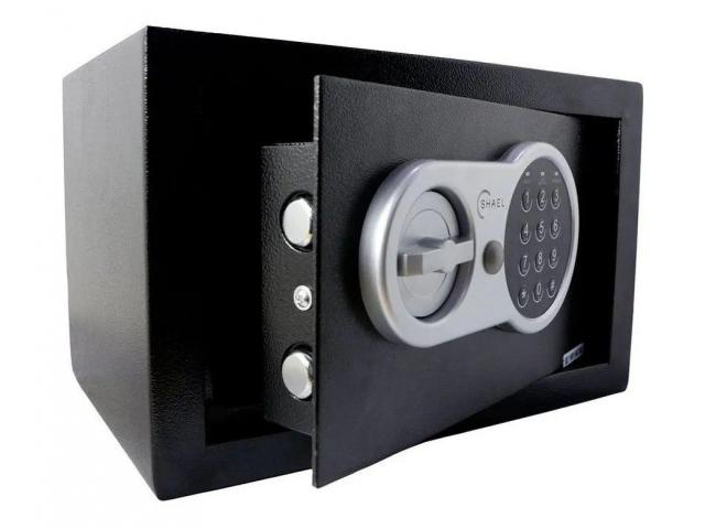 Cofre Eletrônico Digital 31cmx20cm - 1/5