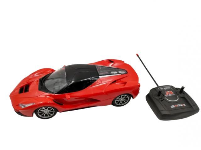 Carrinho Controle Remoto Ferrari Vermelha - 1/2