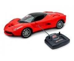 Carrinho Controle Remoto Ferrari Vermelha - Imagem 2/2