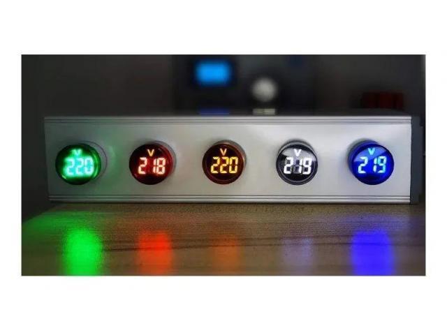 Voltímetro Digital AC 110v 220v - 2/6