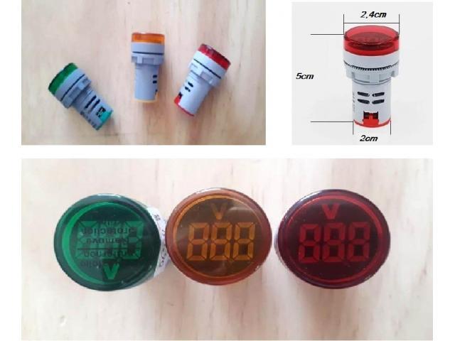 Voltímetro Digital AC 110v 220v - 6/6