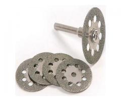 Kit de Disco de Corte Diamantado para Micro Retífica Microretifica