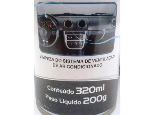 Limpa Ar Concionado Veicular Ônibus Bactericida - Faça Você Mesmo Spray c/ Sonda - 2/6