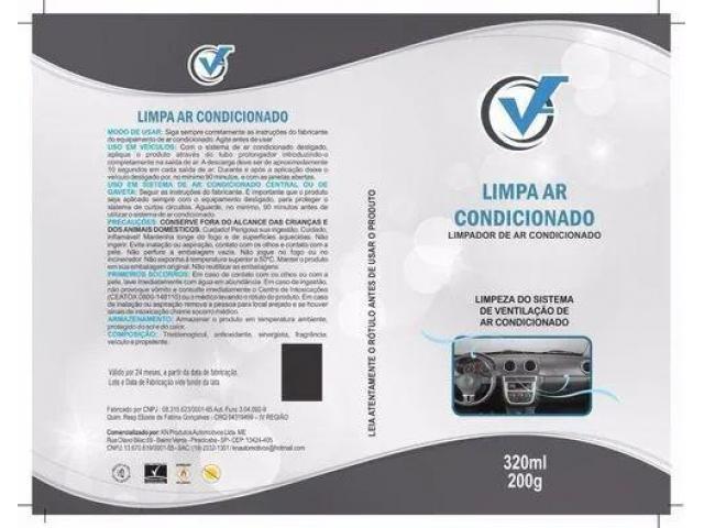Limpa Ar Concionado Veicular Ônibus Bactericida - Faça Você Mesmo Spray c/ Sonda - 6/6