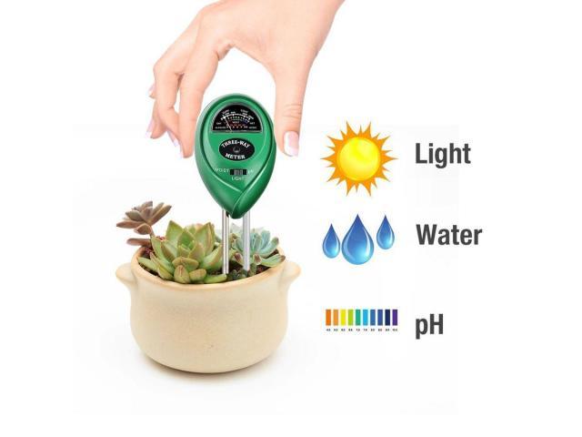 Medidor de PH Solo 3 em 1: Luminosidade, Umidade e PH - 3/3