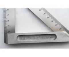 Esquadro 45/90 Graus Aço Inox Profissional - Imagem 4/4