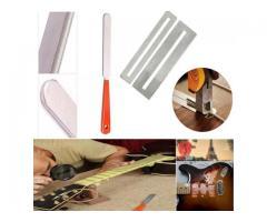 Kit pro luthier 10  itens fita limas rocker reguas gab  raio prot de trastes afasta cordas - Imagem 6/6