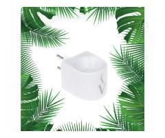 Aromatizador de Ambientes - Difusor Elétrico de Porcelana  + 1 Essência portatil