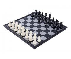 Jogo de Xadrez Magnético Dobrável - Fácil de Carregar