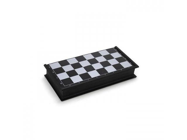 Jogo de Xadrez Magnético Dobrável - Fácil de Carregar - 3/3