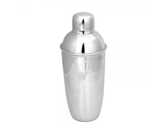 Coqueteleira Inox 500ml para Fazer Drinks Caipirinha Bar etc - 1/2