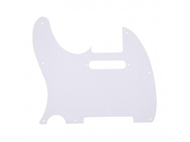 Escudo para Guitarra Telecaster branco estilo fender - 2/4