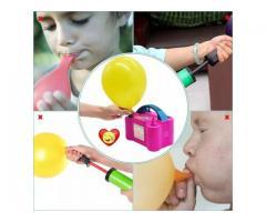 Kit festa inflador de balões + Gabarito medidor balões padronizados