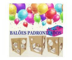 Kit festa inflador de balões + Gabarito medidor balões padronizados - Imagem 5/6