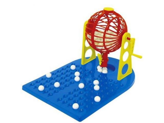 Jogo de Bingo com Roleta - 1/2