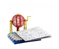 Jogo de Bingo com Roleta