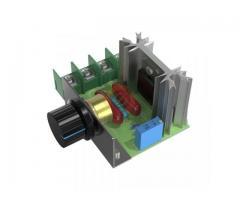 Dimmer Para maquinas  ate 2000w 50~220v Scr Regulador De Tensão Eletrônico Pwm