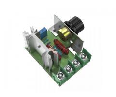 Dimmer Para maquinas  ate 2000w 50~220v Scr Regulador De Tensão Eletrônico Pwm - Imagem 3/6
