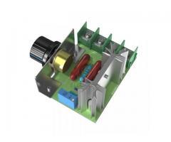 Dimmer Para maquinas  ate 2000w 50~220v Scr Regulador De Tensão Eletrônico Pwm - Imagem 4/6