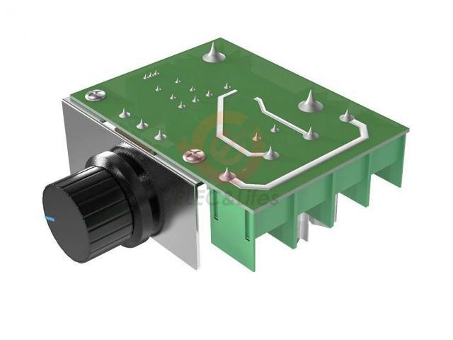 Dimmer Para maquinas  ate 2000w 50~220v Scr Regulador De Tensão Eletrônico Pwm - 5/6