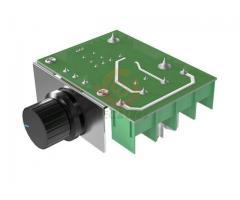 Dimmer Para maquinas  ate 2000w 50~220v Scr Regulador De Tensão Eletrônico Pwm - Imagem 5/6