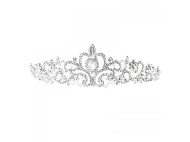 Coroa Tiara Noiva Festa Debutante Formatura Princesa - 1/2