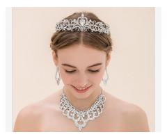 Coroa Tiara Noiva Festa Debutante Formatura Princesa