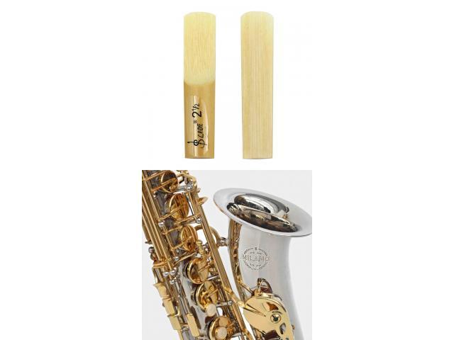 Palheta Sax Alto Mi Bemol - N° 2,5 - Kit Com 2 Unidades - 1/4