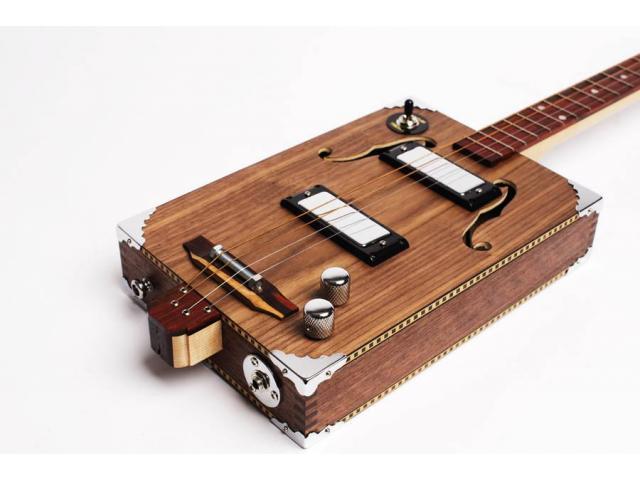 captador  Piezo amplificador Para  fabricar cigar box Stomp box - 6/6