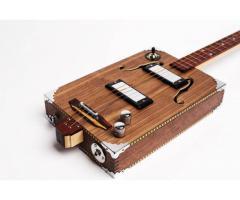 captador  Piezo amplificador Para  fabricar cigar box Stomp box - Imagem 6/6