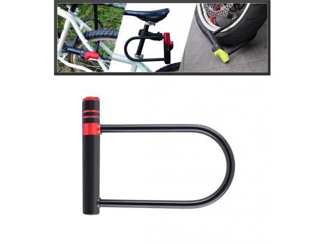 Trava Tranca U Lock Motos Motocicleta Bike Anti-furto - 3/3