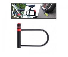 Trava Tranca U Lock Motos Motocicleta Bike Anti-furto