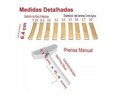 """Prensa Trastes Guitarra Baixo Violão Completo todos os Raios 7.25""""/9.5""""/10""""/12""""/14""""/15""""/16""""/17""""/20"""" - Imagem 5/5"""