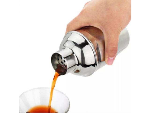 Coqueteleira Inox 750ml para Fazer Drinks Caipirinha Bar etc - 2/3