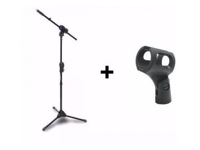 Pedestal Suporte Para Microfone - Karaokê Igreja Barzinho etc - 1/5